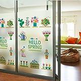 80 * 120 cm Befleckt Statisch Haftenden Fenster Film Matt Opak Privatsphäre Glas Aufkleber Wohnkultur Digitaldruck Garten