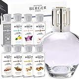 Lampe Berger Starterset Deluxe Ronde inkl. großem Parfumpaket mit 8 Düften Limited Edition 2017