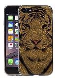 Bubblegum Cases pour iPhone Paillettes Citations Pretty Rose Sparkle Paillettes Coque, 4: Snow White Tiger, iPhone 5 5S Se