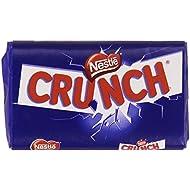 Nestlé - Crunch - Chocolate con leche extrafino con cereales tostados - 40 g