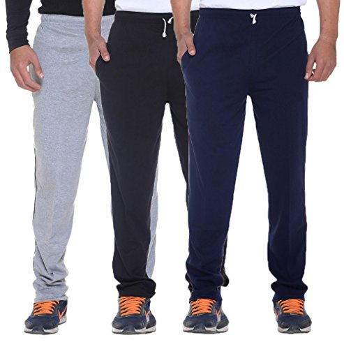 Elk Mens's Cotton Track Pant Trouser with Side Pockets Clothing 3 Color...