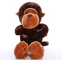 Jouet VERCART Peluche Peluche Peluche Animale Imitation Gorille Jouet Enfant Interactif Poupée Mignon pour Bébé Doudou Garcon Fille Cadeau d'anniversaire 0a6737