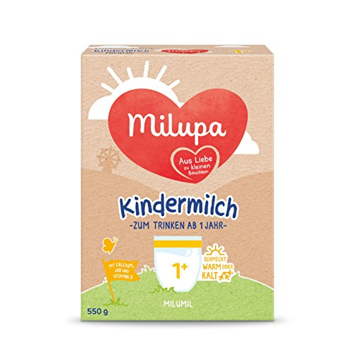 Milupa Milumil Kindermilch ab 1 Jahr 550g, 2er Pack (2 x 550g)