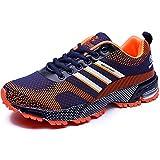 918da211ca57d Zapatillas Hombres Deporte Running Zapatos para Correr Gimnasio Ligeras  Cómodas Sneakers Deportivas Transpirables Casual CHNHIRA(