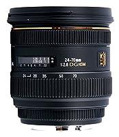 Sigma 24-70mm f2.8 IF EX DG HSM Canon - Objetivo para Canon (distancia f...