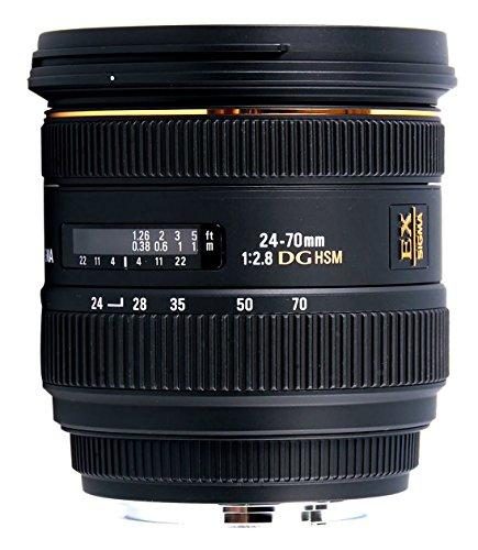 Objectif Sigma 24-70 mm F2.8 DG HSM EX - pour Canon
