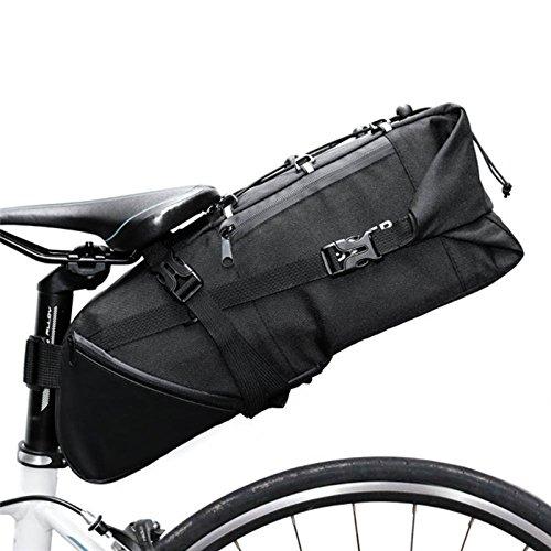 Uthome Fahrrad Satteltasche, Bike Rack Bag, Fahrrad Lenker Wasserdicht Taschen, Fahrrad Rahmen Tasche, Hinten Sitz Trunk Bag Cargo für Gepäck, Mountain, Road, Radfahren Sport