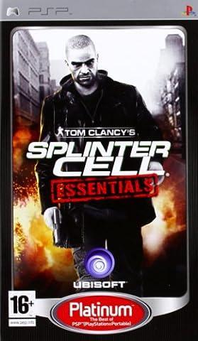 Splinter Cell Psp - Splinter Cell Essentials -Platinum- [Importer