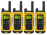 Motorola TLKR T80Extreme mit Fall PMR 446Walkie Reichweite bis zu 10km-Quad Pack