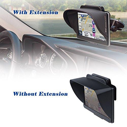 TFY Pare-soleil pour GPS avec Vi...