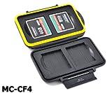 JJC MC-CF4 Etui für Speicherkarten, für 4CF-Karten