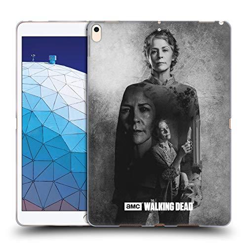 Offizielle AMC The Walking Dead Carol Doppelte Aussetzung Soft Gel Huelle kompatibel mit iPad Air (2019) -