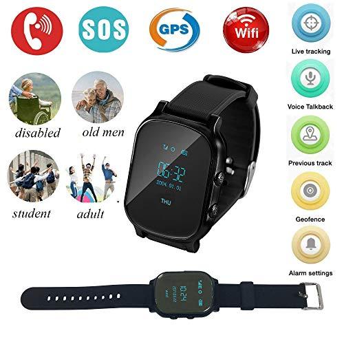 Winnes Smartwatch, GPS-Herren, intelligente Uhren für Frauen, GPS-Tracker, intelligentes Armband, Aktivitätsarmband, für Kinder