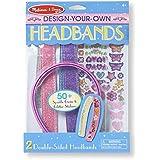 Melissa & Doug DYO Headbands, Multi Color
