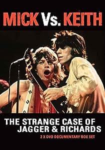 The Rolling Stones - Mick Vs. Keith The Strange Case Of Jagger & Richards [2 X DVD SET] [NTSC] [2013]