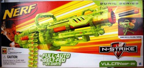 EBF 25 Maschinengewehr grüntransparent (Nerf Vulcan Blaster)