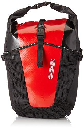 Ortlieb Gepäckträgertasche Back-Roller Pro Classic Paar Satteltasche, Red/Black, One Size