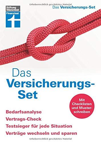 Das Versicherungs-Set: Bedarfsanalyse, Vertrags-Check-up, Testsieger für jede Situation, Verträge wechseln und sparen