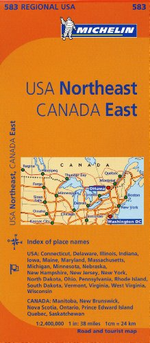 Michelin USA Northeast, Canada East (Michelin Maps) par From Michelin Travel Publications