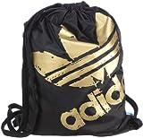 adidas Originals SPO GYMSACK V86323 Unisex - Erwachsene Sporttaschen, Schwarz (BLACK/METALLIC GOLD), 39x50 cm (B x H x T)