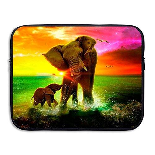 156d847f4 ASKSWF bolsa de ordenador portátil Laptop Sleeve Case Protective Bag  Elephant Rainbow Sea Printed Ultrabook Sleeve Bags Cover For 15 Inch  Macbook ...