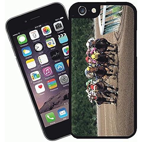Caballo de carreras - esta cubierta cabrá Apple Modelo iPhone 6s (no 6s plus) - Ideas para regalos de Eclipse