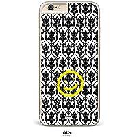 Funda Sherlock Holmes Moriarty Serie BBC - iPhone 6, iPhone 7, iPhone 5, Samsung S6, Samsung S7, Huawei P8 Lite, Motorola Moto G3, Motorola Moto G4, Motorola Moto G4 Plus - Transparente y Plástico Duro - Tumblr Moderno Ilustración