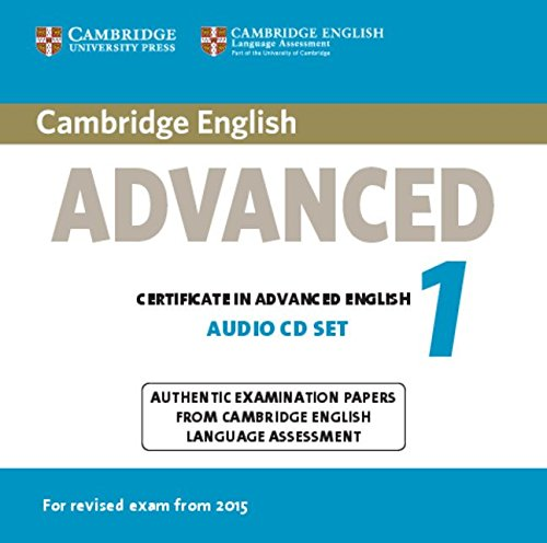 Cambridge English Advanced 1 for Revised Exam from 2015 Audio CDs (2) (CAE Practice Tests)