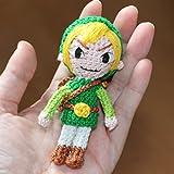Link, Handgemachter Häkel Amigurumi, Stofftier, Geschenk, The Legend of Zelda