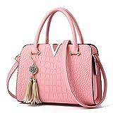 La donna di fiocco Crossbody borse Borsetta in pelle di alligatore Pattern Borsa a Tracolla Designer Borsette Borselli sacchetto popolare può16 rosa