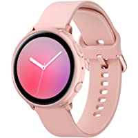 Spigen Liquid Air Cover Case Compatible with Samsung Galaxy Watch Active 2 (44mm) - Pink Gold (Watch not Included)