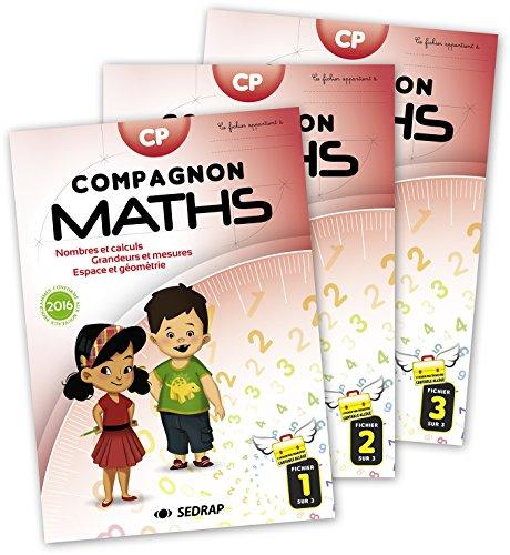 Math CP Compagnon math : Lot de 20 manuels par Collectif