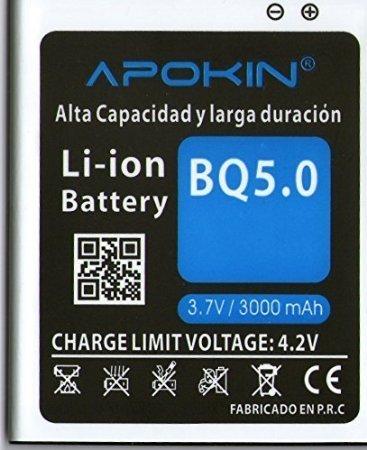 Bateria para BQ 5.0 de 3000 mAh