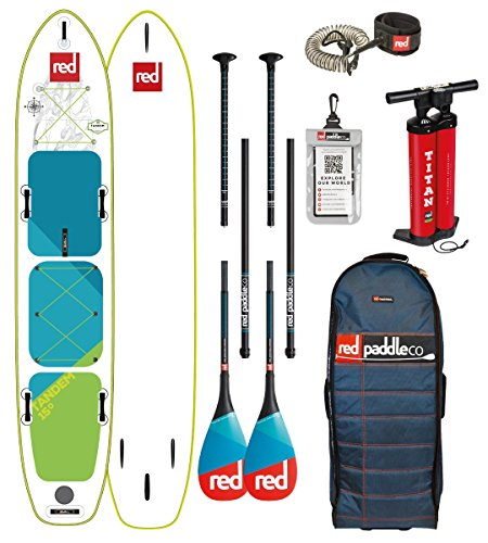 Red Paddle Co 2018 Voyager Tandem 15'0 Inflatable Stand… | 05060345329506