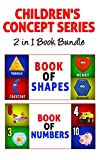 Children's Book: Children's Concept Series 2 in 1 Bundle (Includes Book of Numbers & Book of Shapes Plus 20 Parenting Tips) Potty Training & Preschool age, Kindergarten & Beginner Readers