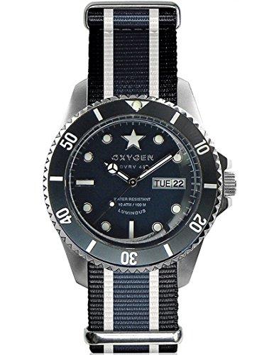 Reloj Oxygen Diver 40 Moby Dick Textil EX-D-MOB-40-NN-BLIVJE