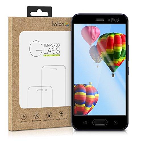kalibri HTC U11 Life Folie - 3D Glas Handy Schutzfolie für HTC U11 Life - Auch für gewölbtes Display