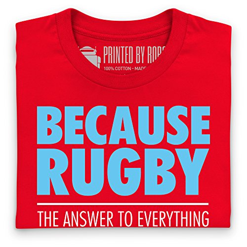 Because Rugby T-Shirt, Damen Rot