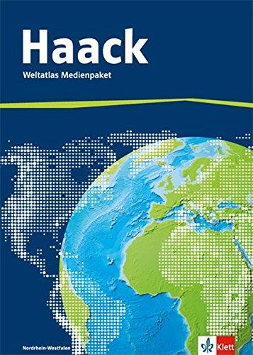 Der Haack Weltatlas. Ausgabe Nordrhein-Westfalen Sekundarstufe I und II: Medienpaket aus Weltatlas, Übungssoftware und Arbeitsheft Kartenlesen mit Atlasführerschein Klasse 5-13