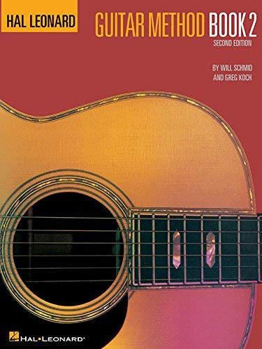 Hal Leonard Guitar Method Book 2 by Will Schmid (1970-01-01)