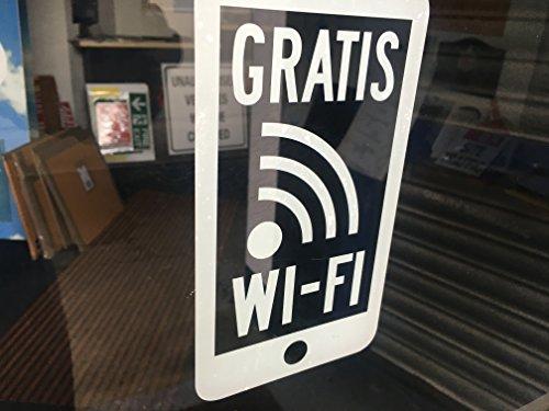 Preisvergleich Produktbild Classy Deutsche Version Weiß Smartphone gratis WLAN Fenster Aufkleber für Innen GlasTwin Holzfußböden, weiß STÜCK AUFKLEBER