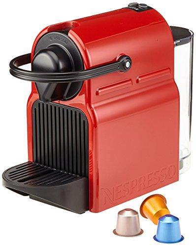Nespresso Krups Inissia XN1005 - Cafetera de cápsulas,  rojo