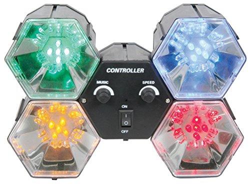 QTX LED-Lichteffekt Musiksteuerung Lichtorgel 4 Farben