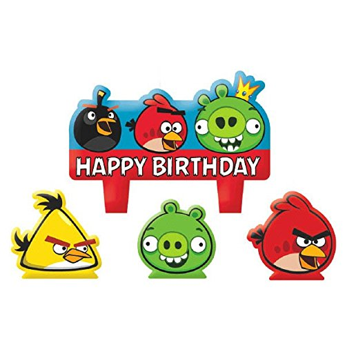 Image of Angry Birds Candles