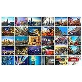 Schöne Reise-Landschaft 30PCS Künstlerische Retro Postkarten-London