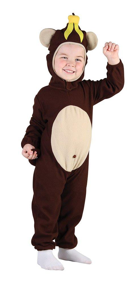 Disfraz infantil de Chimpancé. 3 años