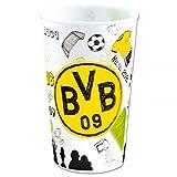 BVB Borussia Dortmund 3 Trinkbecher 0,3 l mit Wackelbildern ideal für jede Party