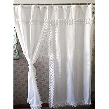badass shower curtains. BADASS SHARKS Waterproof Mouldproof Bathroom Fabric White Lace Shower Curtain Bath With Hoist Hooks(72*72 Inch) Badass Curtains