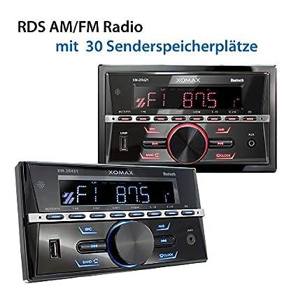XOMAX-Autoradio-mit-Bluetooth-RDS-USB-2-DIN
