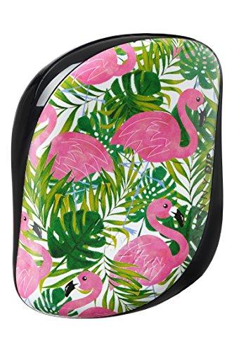 Tangle Teezer Compact Styler Skinny Dip Palm Print, Haarbürster, 1er Pack (1 x 1 Stück) Haarbürste Palm